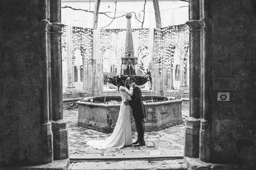 Sseance photo abbay de valmagne mariage