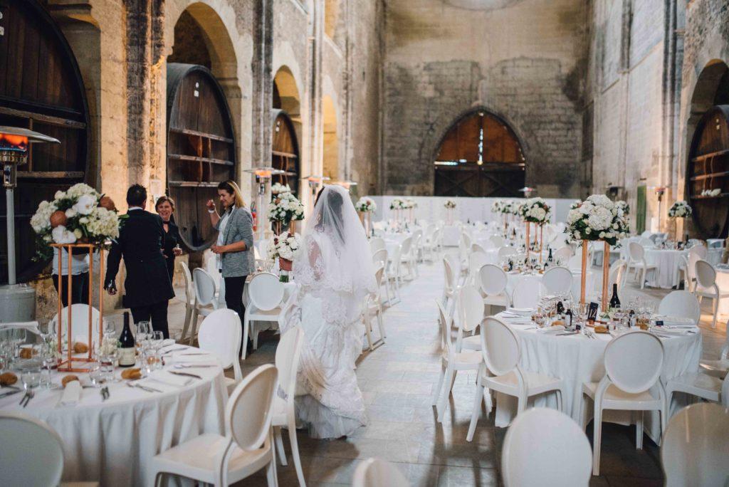 découverte de l'Abbaye mariés