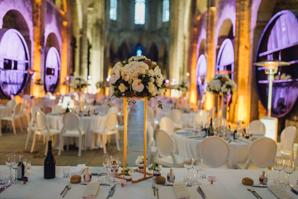 mariage haut de gamme abbaye de valmagne
